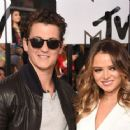 Miles Teller and Keleigh Sperry - 454 x 363
