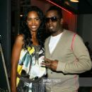 Puff Daddy and Kim Porter - 454 x 632