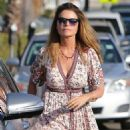 Maria Shriver in Long Dress – Out in Brentwood