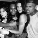 Chris Brown and Kendall Jenner - 454 x 639