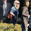Jessica Simpson At Van Nuys Airport