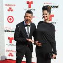 Karla Birbragher and Jorge Bernal- Arrivals at the Billboard Latin Music Awards 2014 - 386 x 594