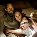 Jamie Foxx and Kerry Washington in Django Unchained