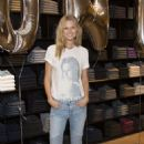 Toni Garrn Promoting Her Closed Charity Denim Line In Hamburg