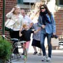 Liv Tyler - Walking With Her Son In New York City - September 16, 2010