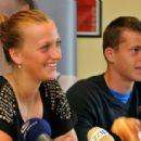 Petra Kvitová and Adam Pavlasek