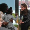 The Duchess Of Cambridge Visits The Family Nurse Partnership - 454 x 331