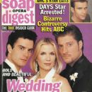 Rick Hearst, Katherine Kelly Lang, Sean Kanan - Soap Opera Digest Magazine Cover [United States] (28 May 2002)