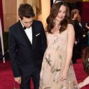Keira Knightley and James Righton At The 87th Annual Academy Awards (2005)