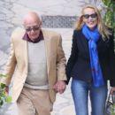 Jerry Hall and Rupert Murdoch - 454 x 396