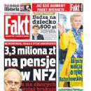 Malgorzata Kozuchowska - Fakt Magazine Cover [Poland] (11 July 2015)