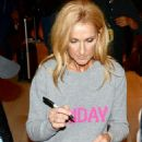 Celine Dion – Signs autographs for fans after her show in Sydney - 454 x 702