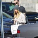 Ashley Tisdale: strolled the streets in Studio City