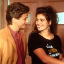 Julia Roberts and Adam Storke in Mystic Pizza (1988)