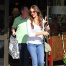 Sofia Vergara shopping in Beverly Hills at Between The Sheets (July 30)