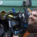 director Alfonso Cuarón in Children of Men