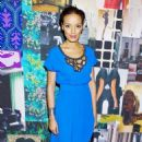 Selita Ebanks at the Tracy Reese Fall 2012 Fashion Show