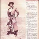 Camelia - Amor Film Magazine Pictorial [France] (22 February 1956)