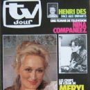 Meryl Streep - TV Jour Magazine Cover [France] (3 February 1982)