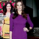 Ashley Greene Celebrates Her Lucky Magazine Cover in NYC