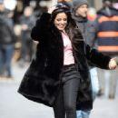 Camila Cabello – Filming a Mastercard commercial in New York City