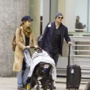 Nikki Reed and Ian Somerhalder – Arriving in Toronto - 454 x 509