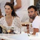 Alessandra Ambrosio and Jamie Mazur Boating While in Ibiza 7/3/2016 - 454 x 322