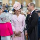 The Duke And Duchess Of Cambridge :  The Queen Hosts Garden Party At Buckingham Palace - 454 x 303