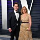 Paul Rudd and Julie Yaeger: 2019 Vanity Fair Oscar Party Hosted By Radhika Jones - Arrivals