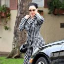 Dita Von Teese – Leaving a yoga class in Los Angeles