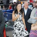 "Julia Louis-Dreyfus: appearance on ""Good Morning America"" in New York City"