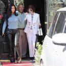 Kim Kardashian – Leaves Italian restaurants in Calabasas - 454 x 303