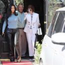 Kim Kardashian – Leaves Italian restaurants in Calabasas