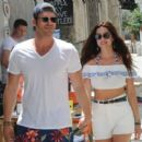 Basak Dizer & Kivanc Tatlitug out in Çesme, Izmir (June 21, 2016) - 454 x 401