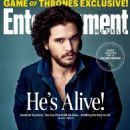 Kit Harington - Entertainment Weekly Magazine Cover [United States] (13 May 2016)