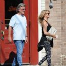 Goldie Hawn and Kurt Russell spotted at Lil Dom's in Silver Lake Saturday October 15, 2016 - 454 x 524