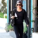 Lisa Rinna in Tights – Heads to Yoga Class in Studio City - 454 x 681