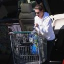 Lea Michele – Shopping at Whole Foods in Brentwood