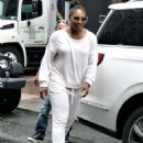 Serena Williams – Heads out for practise session in New York City - 454 x 595