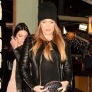 Kendall Jenner At Kate Mantilini Restaurant In La