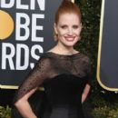 Jessica Chastain At The 76th Golden Globe Awards (2019) - 416 x 600