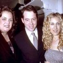 Matthew Broderick and Sarah Jessica Parker with Rosie O'Donnel