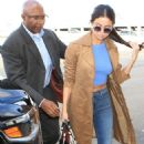 Selena Gomez departs from LAX in Los Angeles, California on November 24, 2015