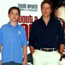 Nicholas Hoult and Hugh Grant at the Premiere