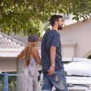Shakira Mebarak and Gerard Pique- Seen on Holiday in Barranquilla, Colombia 12/27/ 2016 - 454 x 575