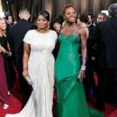 Octavia Spencer and Viola Davis At The 84th Annual Academy Awards (2012) - 454 x 554
