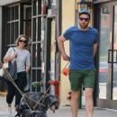 Zachary Quinto was spotted walking his dogs in New York City, New York on August 5, 2016 - 454 x 537