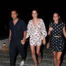 Ana Beatriz Barros and husband Karim El Chiaty – Night out in Mykonos - 454 x 582