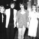 George and Pattie, John & Cynthia. The launch party for the Apple Boutique in December, 1967. - 454 x 358