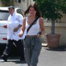 Sofia Richie in White Tank-Top – Out in Los Angeles